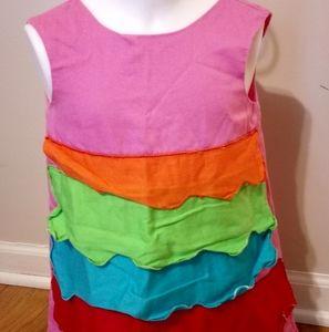 Rainbow Agatha de Ruiz of Prada dress